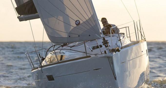 Boat rental Jeanneau Sun Odyssey 349 in Lefkada (Island) on Samboat