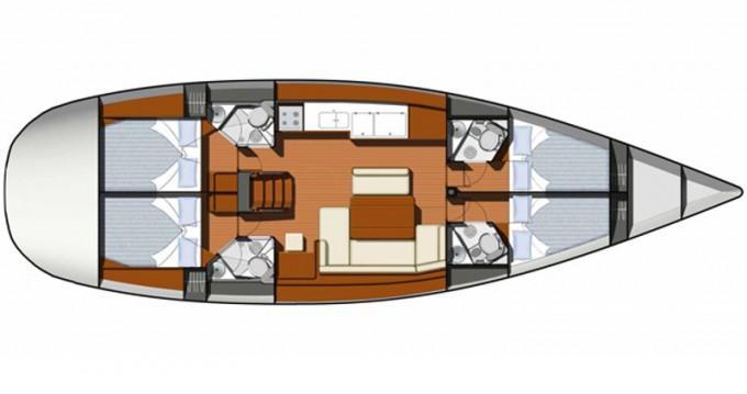 Rental yacht Kavala - Jeanneau Sun Odyssey 49 on SamBoat