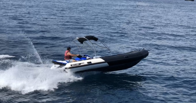 Hire RIB with or without skipper Sealver Mandelieu-la-Napoule