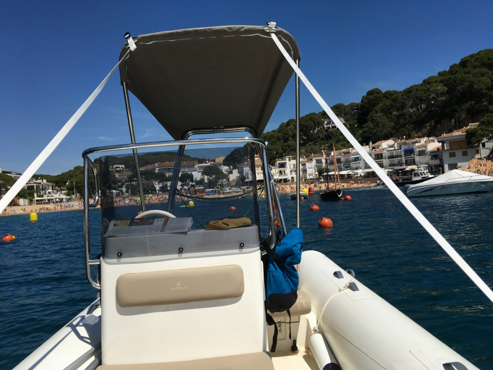 Hire RIB with or without skipper Capelli Llafranc