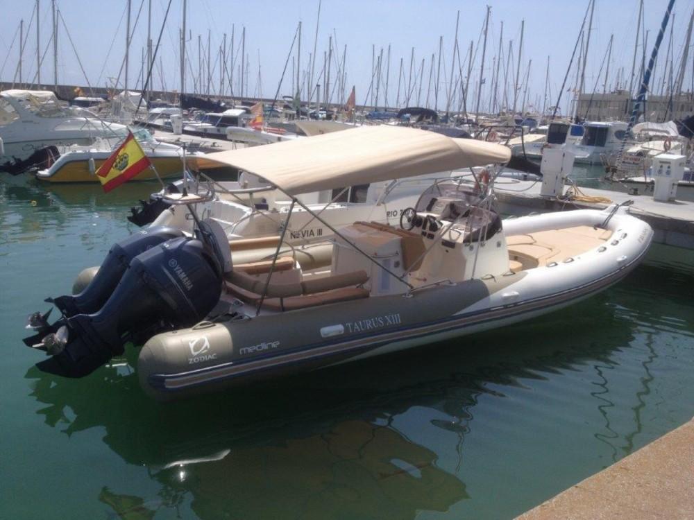 Rental yacht Sitges - Zodiac Medline 850 on SamBoat