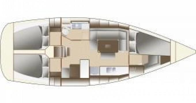 Rental yacht Lorient - Dufour Dufour 380 Grand Large on SamBoat