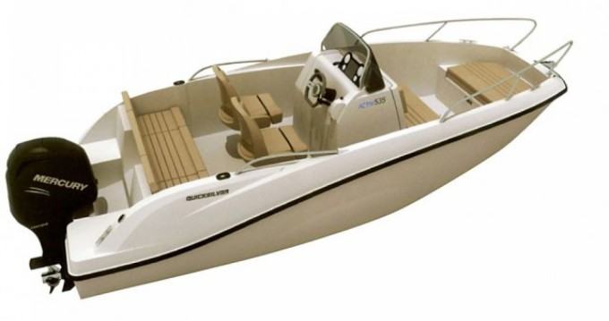 Hire Motorboat with or without skipper Quicksilver Arcachon