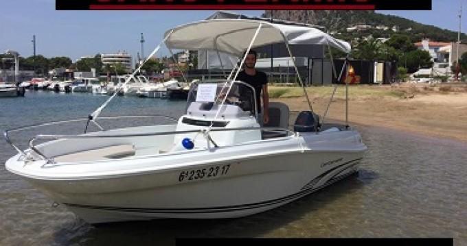 Rental yacht l'Estartit - Jeanneau Cap Camarat 4.7 CC on SamBoat