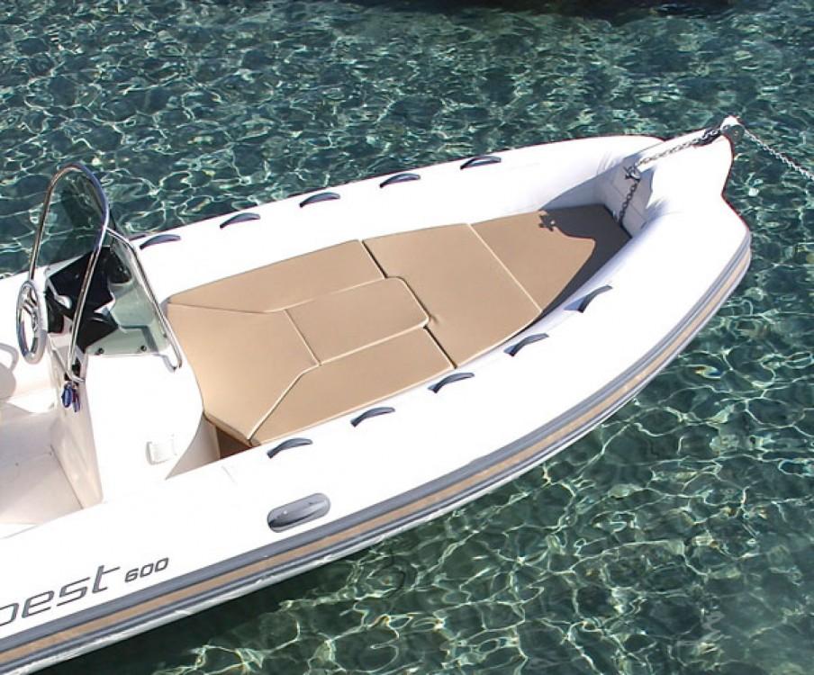 Boat rental Saint-Florent cheap Tempest 600