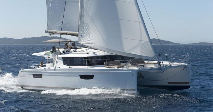 Rental yacht Ajaccio - Fountaine Pajot Saba 50 on SamBoat