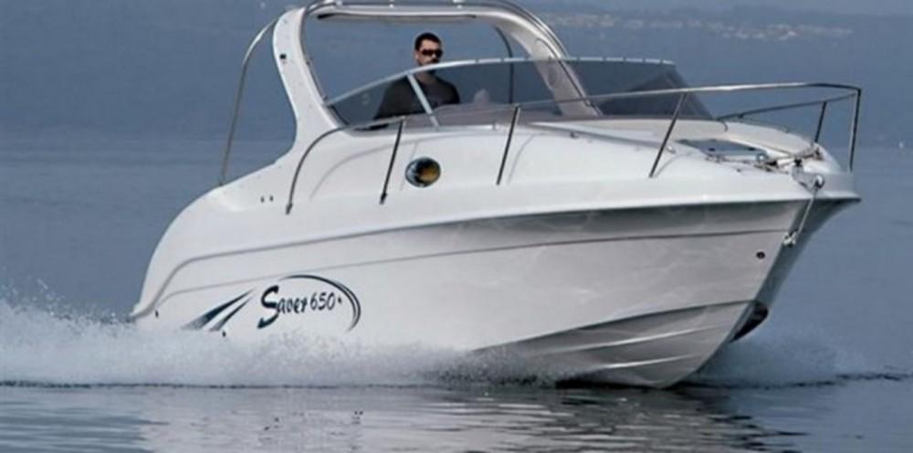 Rental Motor boat in Ajaccio - Saver Saver 650 Cabin