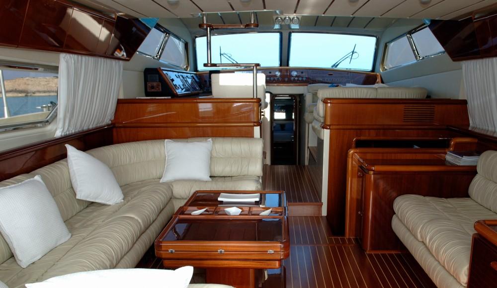Ferretti 175 between personal and professional Balearic Islands