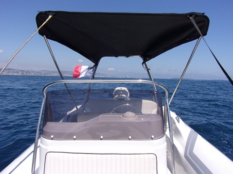 Hire RIB with or without skipper Zar Mandelieu-la-Napoule