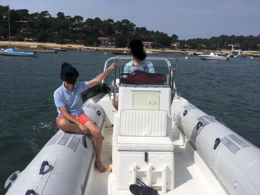Boat rental Lège-Cap-Ferret cheap Caribe UB24