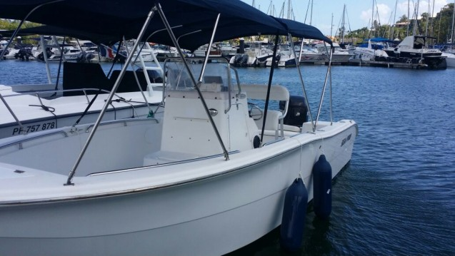 Rent a Sea Pro  220c open Pointe-à-Pitre