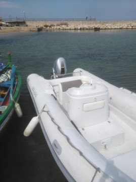 Hire RIB with or without skipper Beluga Siracusa