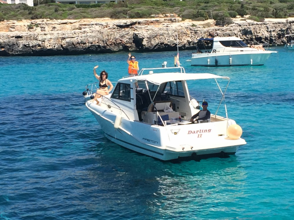 Motor boat for rent Ciutadella at the best price
