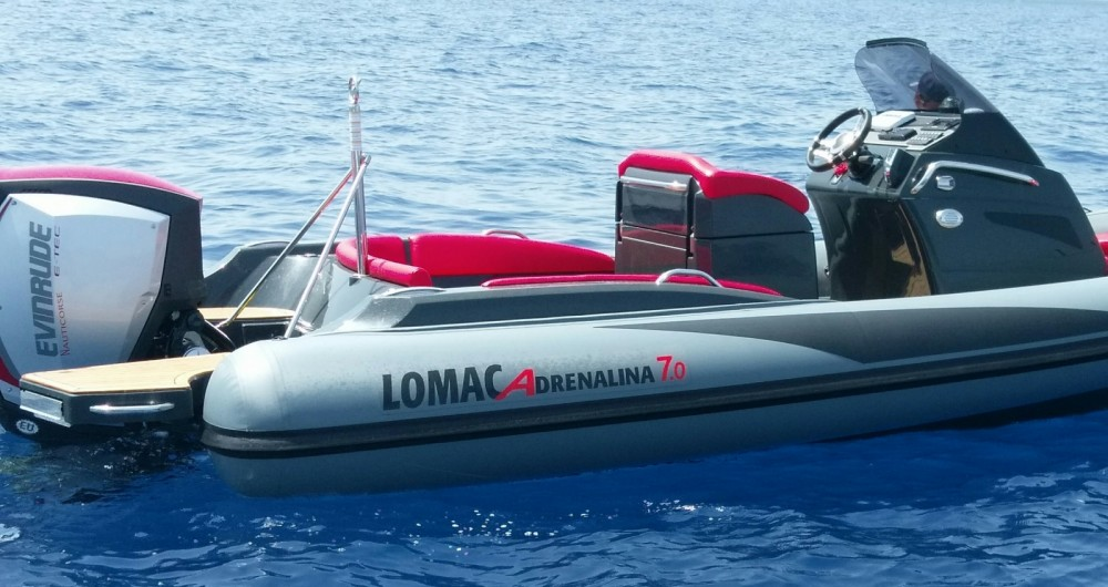 Rental RIB in Saint-Florent - Lomac Adrenalina 7.0