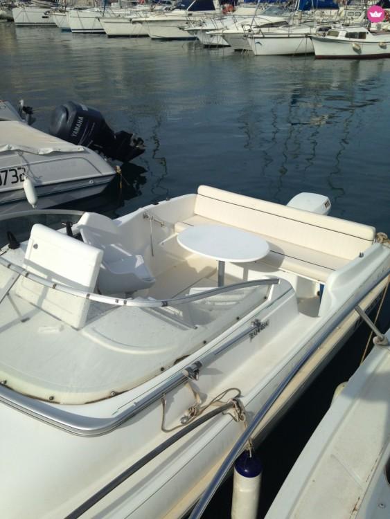 Boat rental Toulon cheap Leader 545