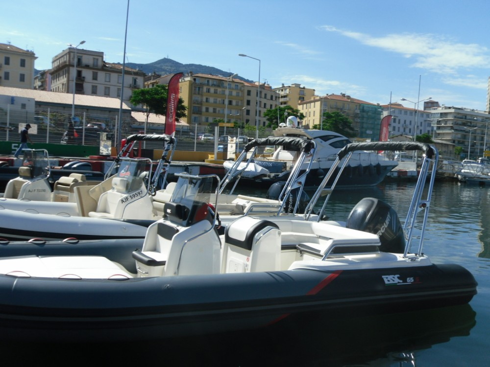 RIB for rent Ajaccio at the best price