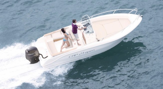 Rental Motorboat in Collioure - Capelli Cap 21 WA
