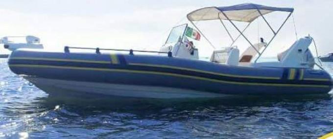 Rent a Marlin Boat Marlin Boat 20 FB Top Golfo Aranci