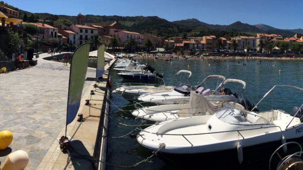 Zodiac N-ZO 700 Cabin between personal and professional Collioure