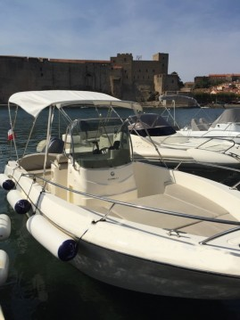 Boat rental Collioure cheap Cap 21 WA