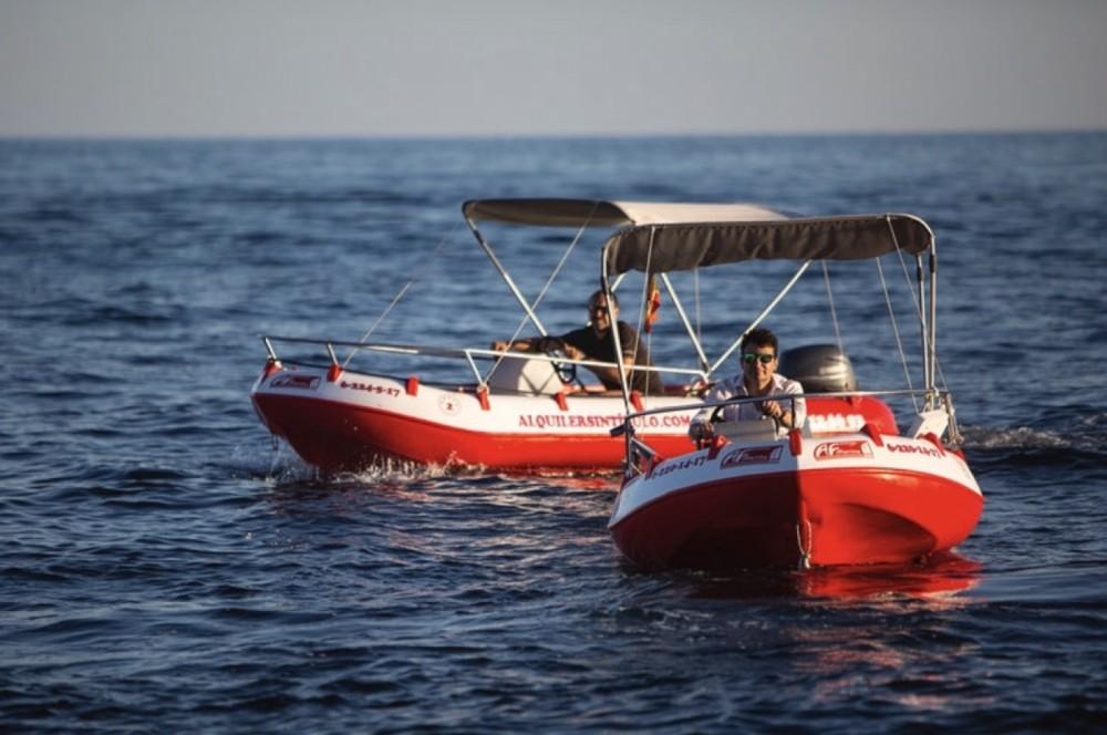 Boat rental Alicante cheap 435
