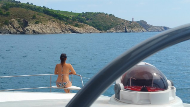 Catana Rina between personal and professional Port-Vendres