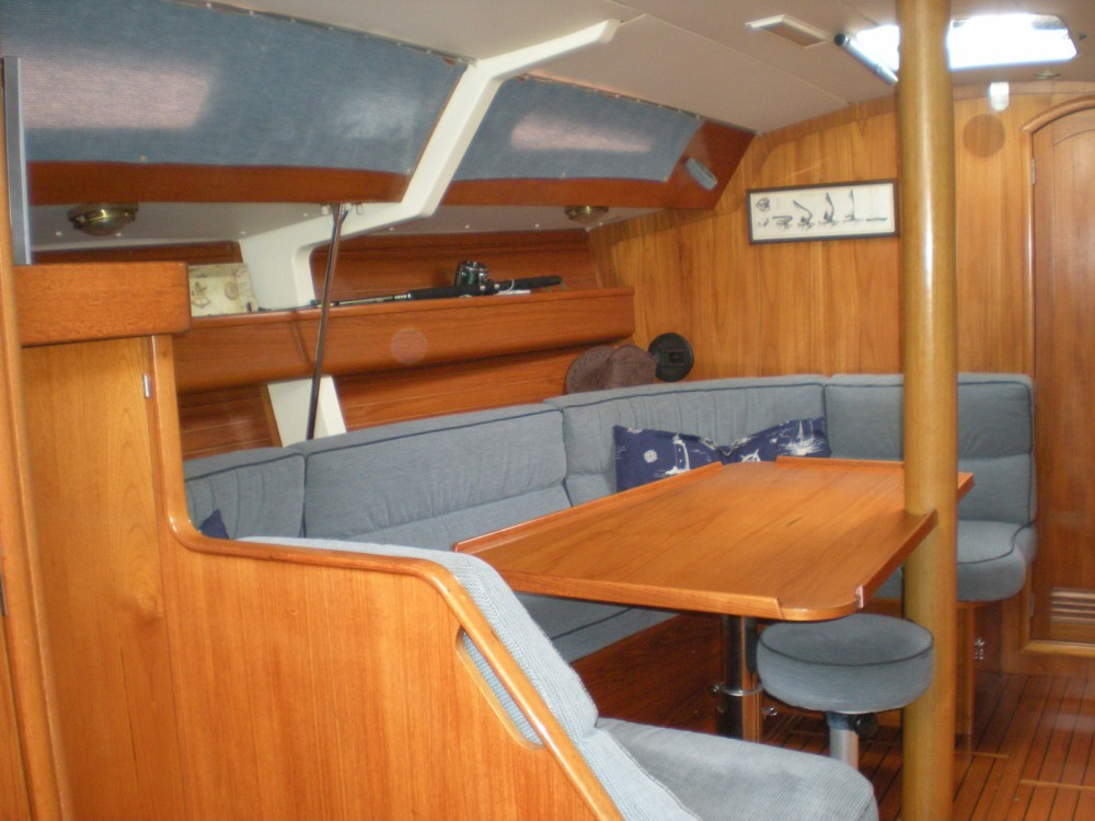 Jeanneau Sun Charm 39 between personal and professional Viareggio