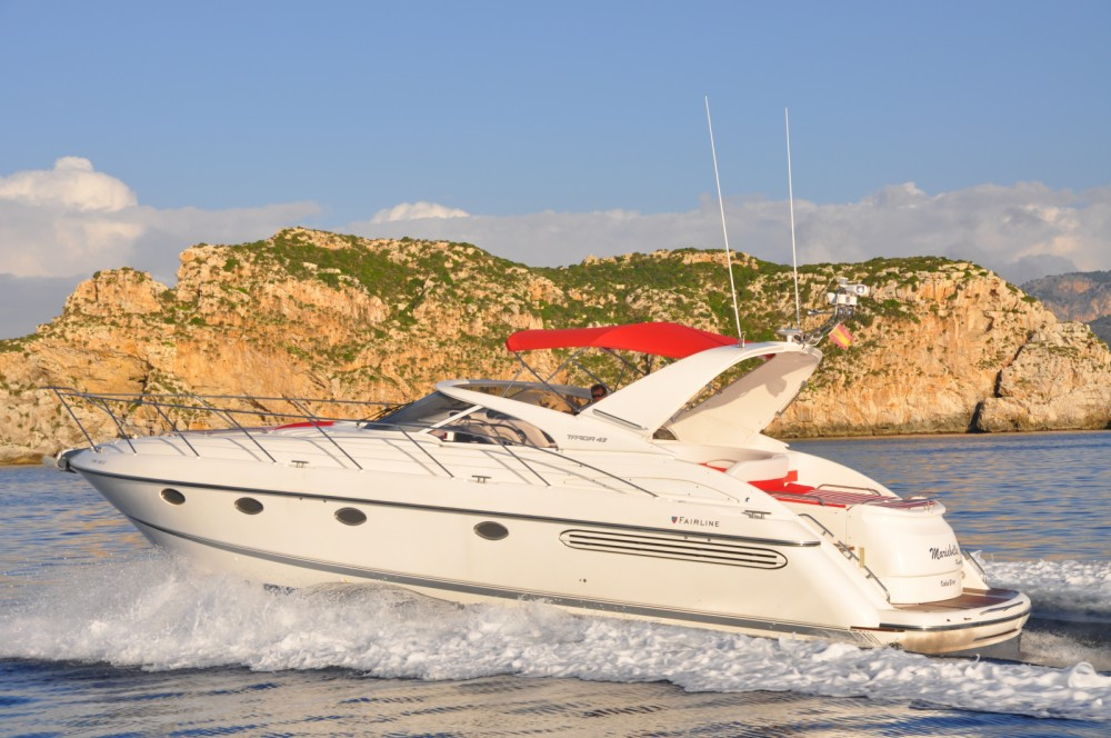 Boat rental Fairline Targa 43 in Calvià on Samboat