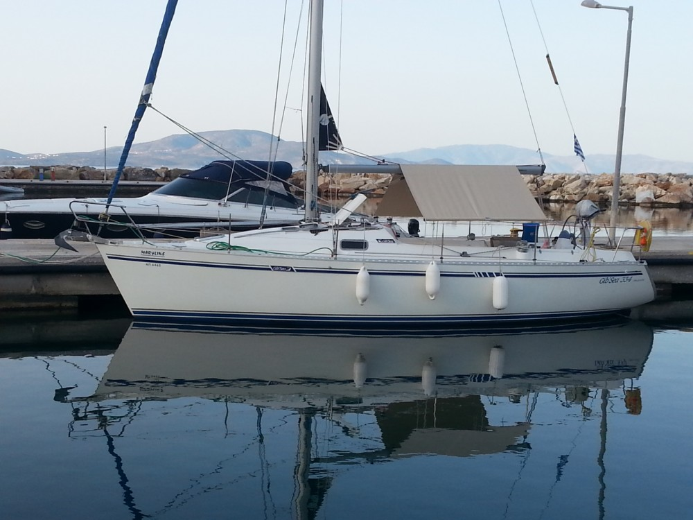 Hire Sailboat with or without skipper Gibert Marine Heraklion