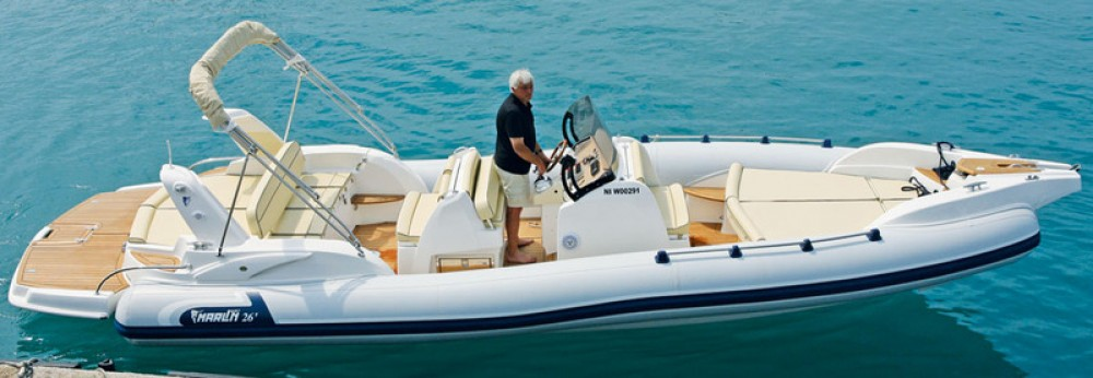 Rental RIB Marlin with a permit