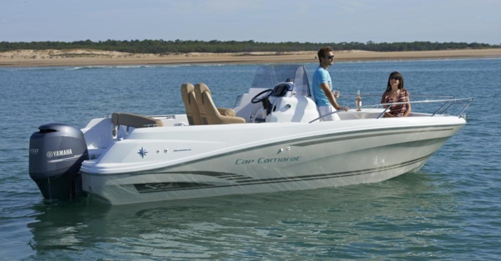 Rental yacht Saint-Gilles-Croix-de-Vie - Jeanneau Cap Camarat 6.5 CC Serie 2 on SamBoat