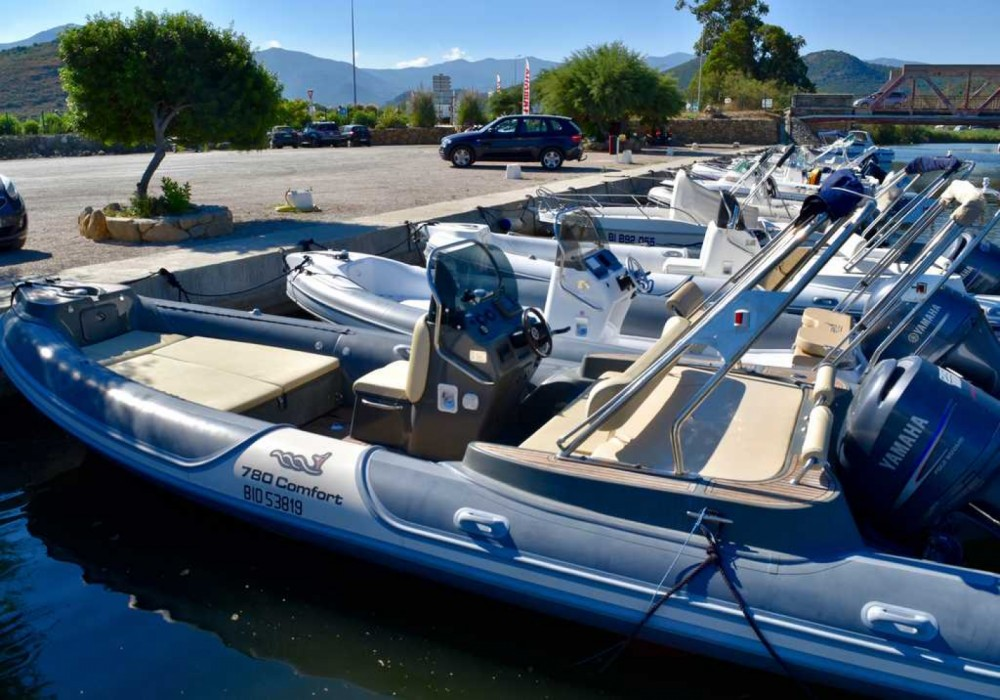 Hire RIB with or without skipper Motonautica Vesuviana Saint-Florent