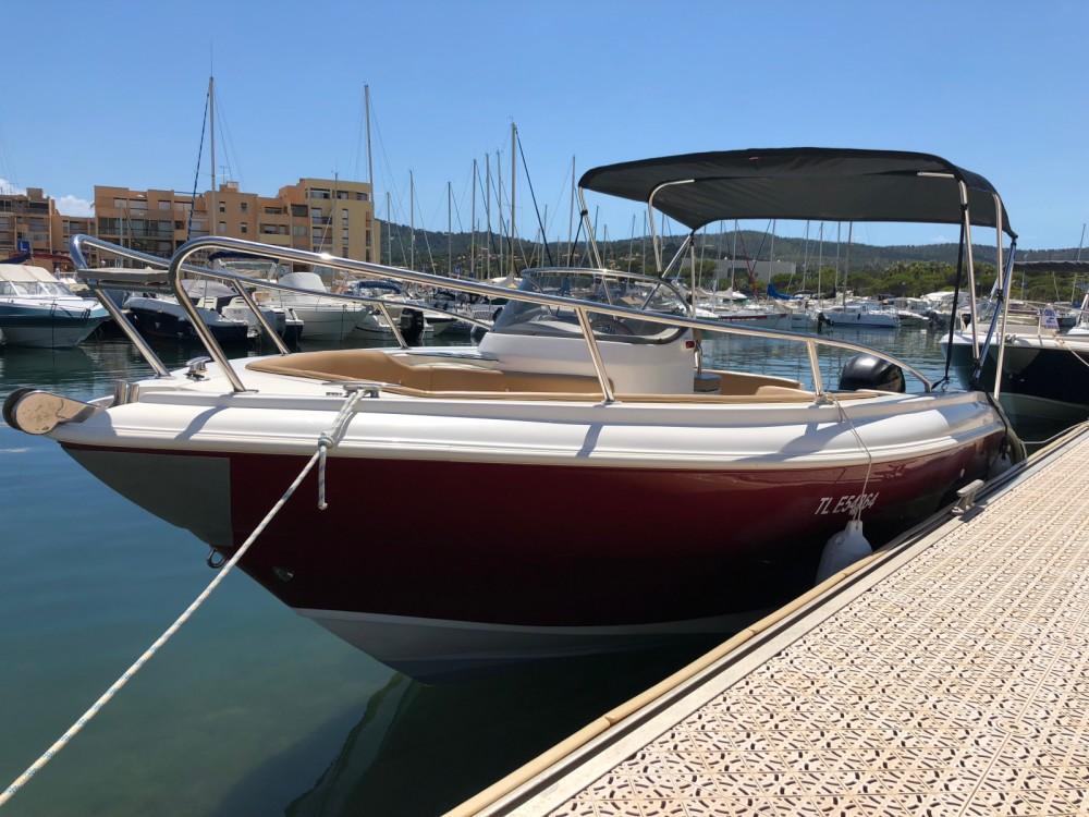 Boat rental Bormes-les-Mimosas cheap AS 590 OPEN