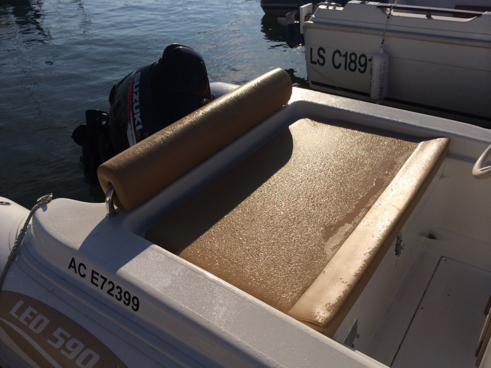 Boat rental Arcachon cheap Nautica Led 590