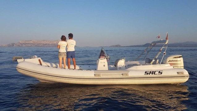 Hire RIB with or without skipper Sacs Golfo Aranci