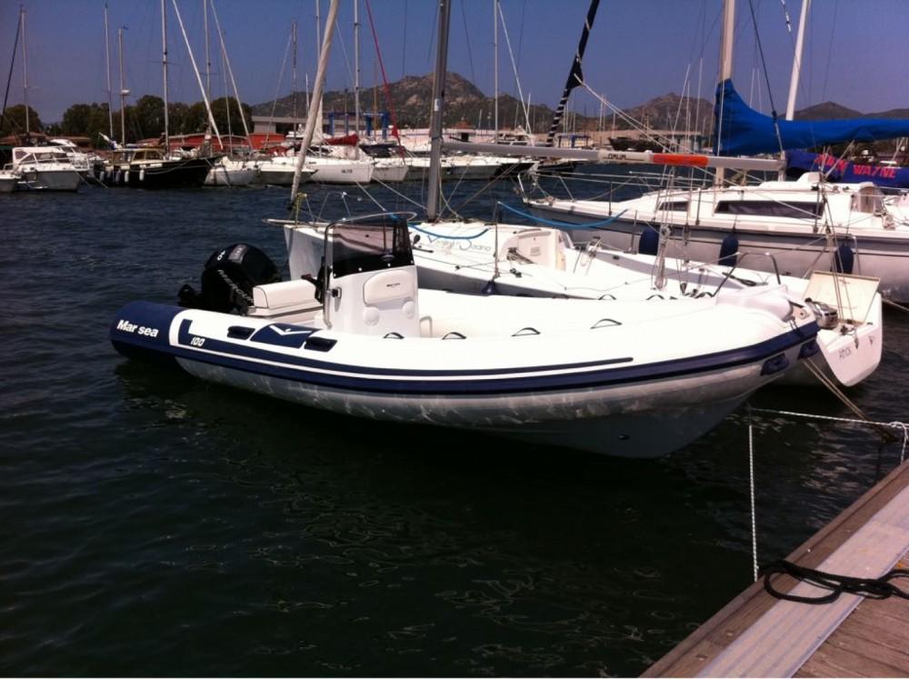 Rental RIB Marsea with a permit