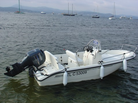 Rental Motorboat Boston Whaler with a permit
