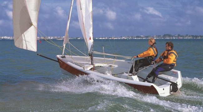 Rental Sailboat Laser with a permit