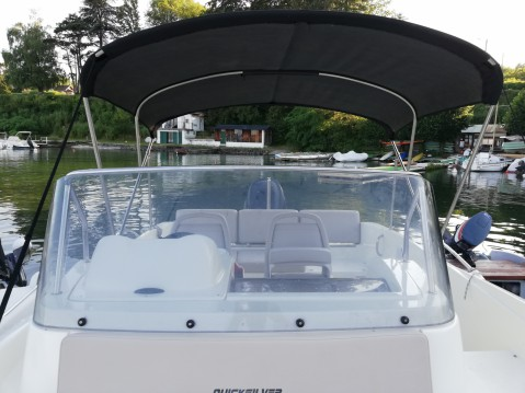 Rental yacht Excenevex - Quicksilver Activ 675 Sundeck on SamBoat