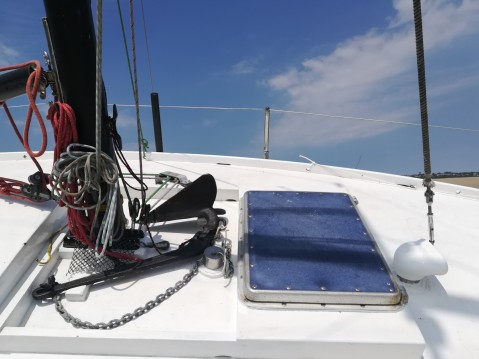 Hire Sailboat with or without skipper Stéphan Agon-Coutainville