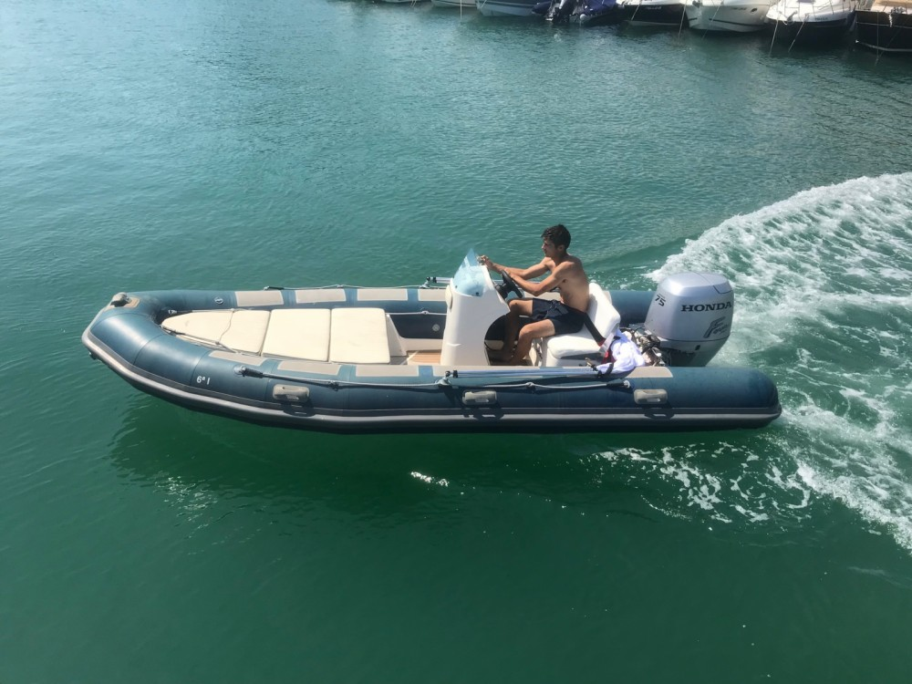Hire RIB with or without skipper Astec Torroella de Montgrí
