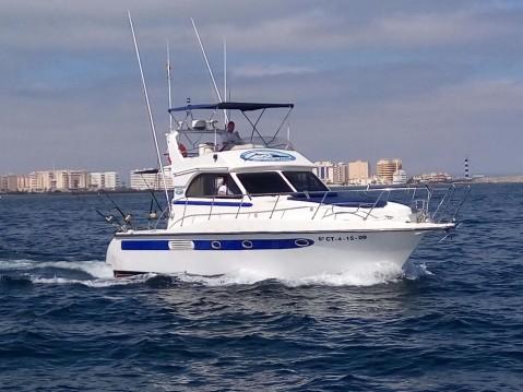 Boat rental Murcia cheap 360 FISHERMAN