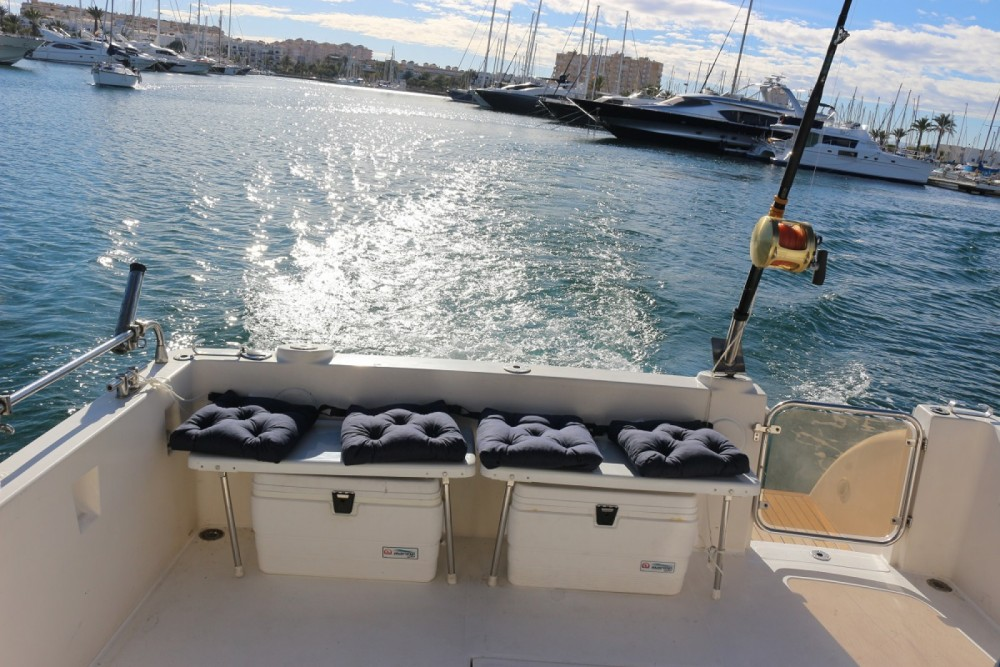 Rent a Doqueve 360 FISHERMAN Murcia