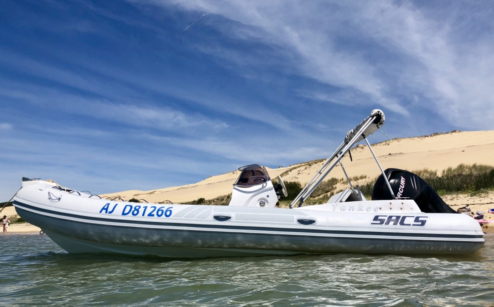 Hire RIB with or without skipper Sacs Lège-Cap-Ferret