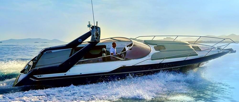 Boat rental La Savina cheap Thunderhawk 43