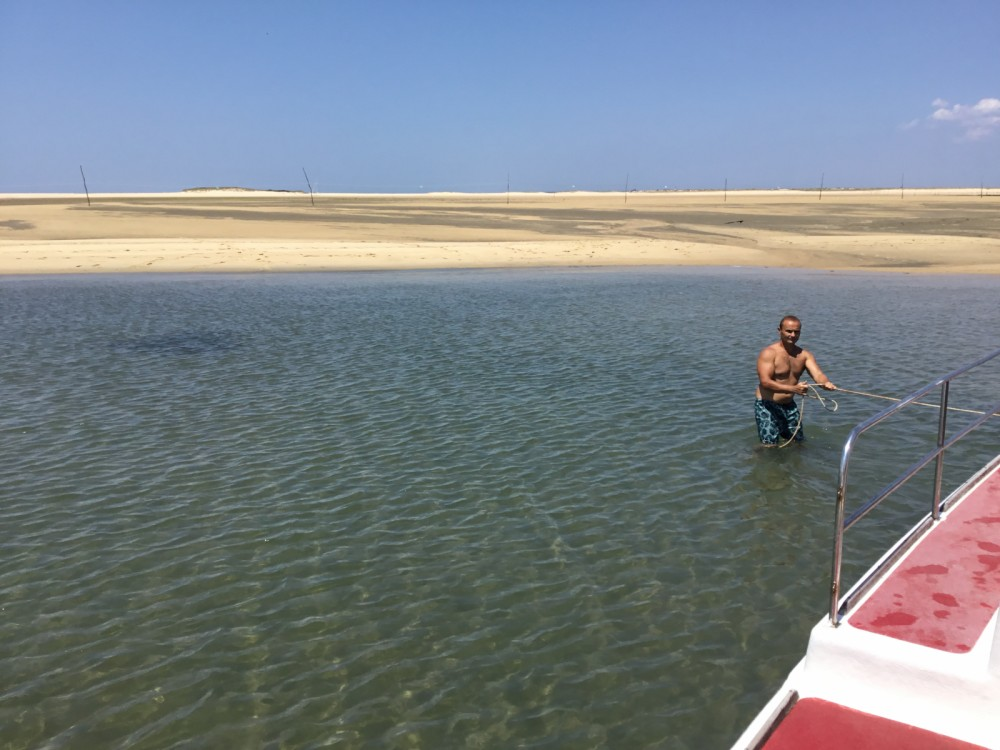 Rental Motorboat Lacaze with a permit