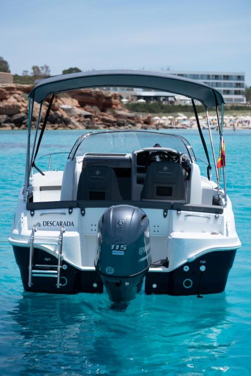 Jeanneau Cap Camarat 5.5 WA between personal and professional Ibiza