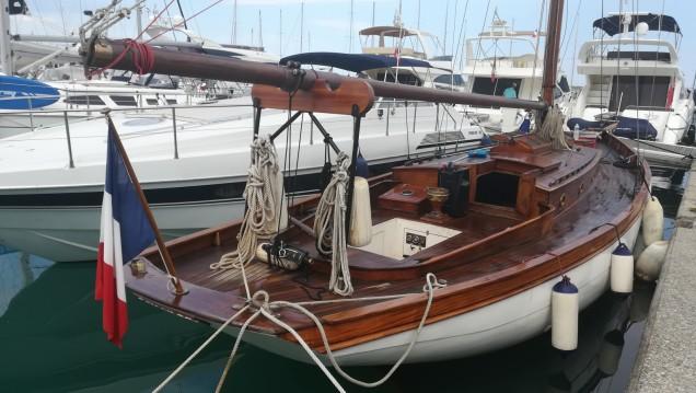 Rental yacht Villeneuve-Loubet - John Alden Talma Bertrand Cotre bermudien on SamBoat