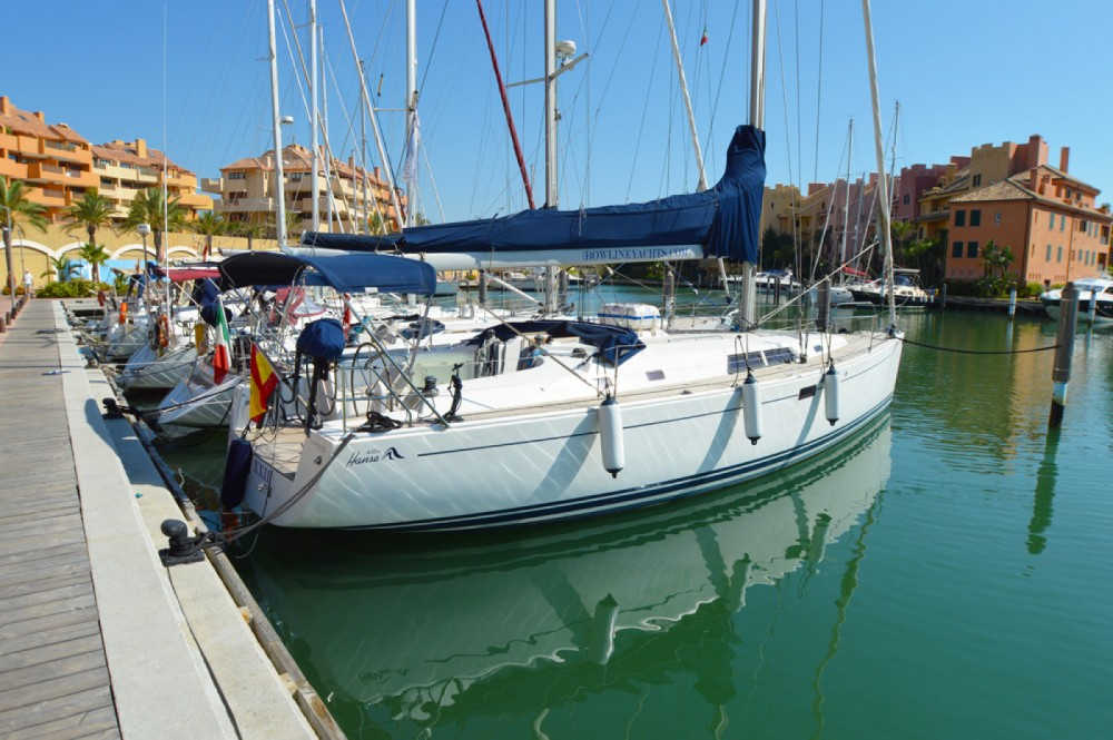 Rental Sailboat in  - Hanse Hanse 430 E
