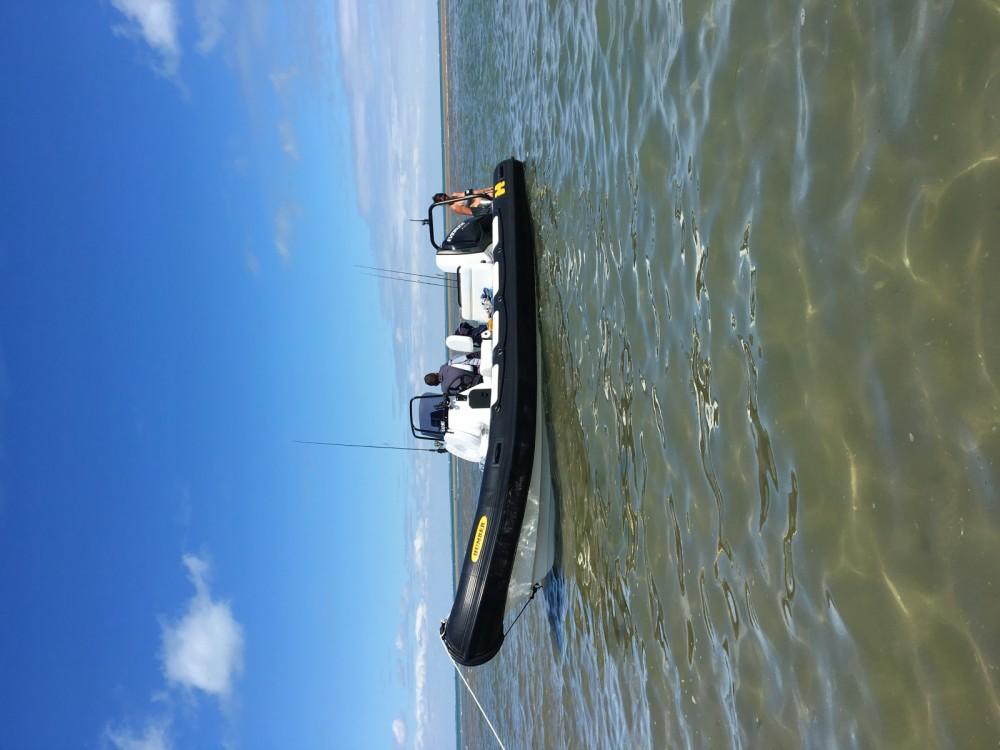 Rental RIB in Saint-Martin-de-Ré - Humber 6.30 pro océan
